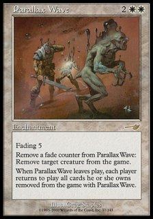 パララクスの波/Parallax Wave