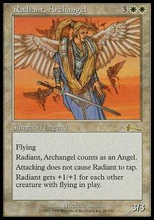 大天使レイディアント/Radiant, Archangel
