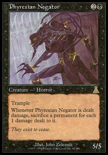 ファイレクシアの抹殺者/Phyrexian Negator
