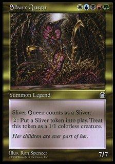 スリヴァーの女王/Sliver Queen