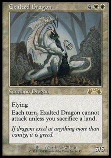 高みのドラゴン/Exalted Dragon