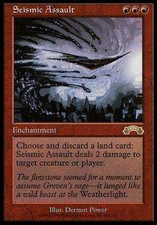 突撃の地鳴り/Seismic Assault