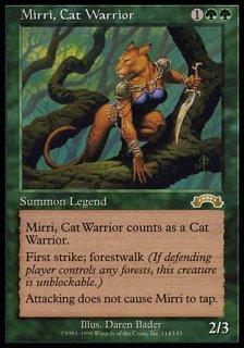 猫族の戦士ミリー/Mirri, Cat Warrior
