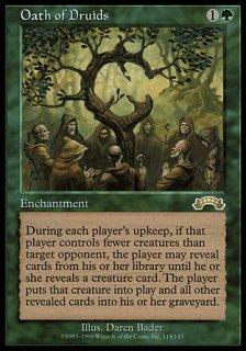 ドルイドの誓い/Oath of Druids