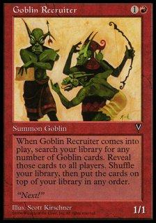 ゴブリン徴募兵/Goblin Recruiter