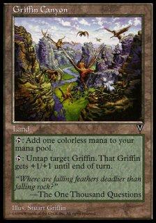 グリフィンの峡谷/Griffin Canyon