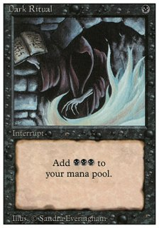 暗黒の儀式/Dark Ritual