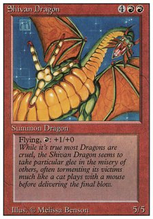 シヴ山のドラゴン/Shivan Dragon