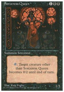 魔術師の女王/Sorceress Queen