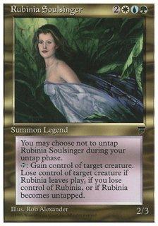 魂の歌姫ルビニア/Rubinia Soulsinger