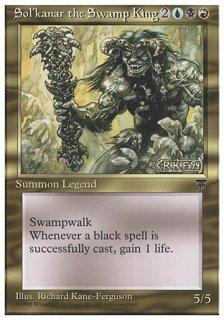 沼地の王ソルカナー/Sol'kanar the Swamp King