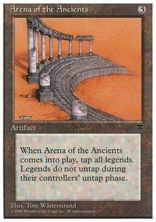 古き者どもの闘技場/Arena of the Ancients