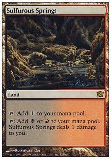 硫黄泉/Sulfurous Springs