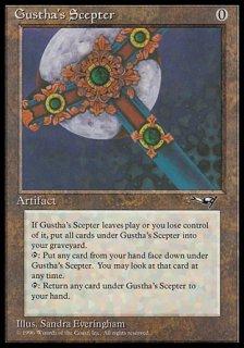 Gustha's Scepter