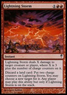 稲妻の嵐/Lightning Storm