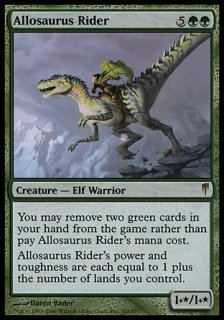 アロサウルス乗り/Allosaurus Rider