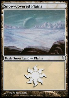 冠雪の平地/Snow-Covered Plains