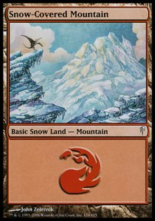 冠雪の山/Snow-Covered Mountain