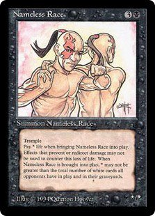Nameless Race