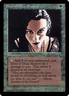 深き闇のエルフ/Elves of Deep Shadow