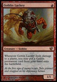 ゴブリンの従僕/Goblin Lackey