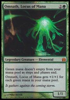 マナの座、オムナス/Omnath, Locus of Mana