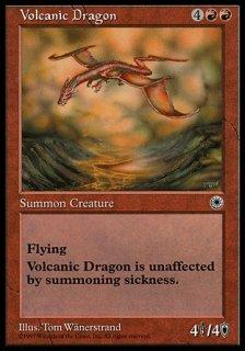 火山のドラゴン/Volcanic Dragon
