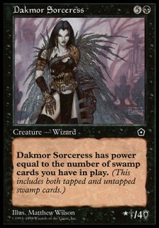 ダクムーアの女魔術師/Dakmor Sorceress