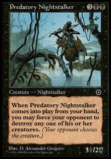 捕食の夜魔/Predatory Nightstalker