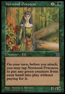 ノーウッドの女司祭/Norwood Priestess