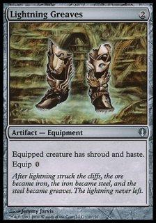 稲妻のすね当て/Lightning Greaves