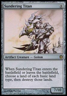 隔離するタイタン/Sundering Titan