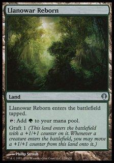 ラノワールの再生地/Llanowar Reborn