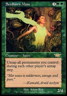 種子生まれの詩神/Seedborn Muse