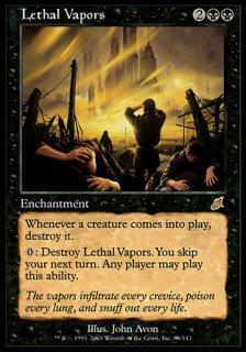 致死の蒸気/Lethal Vapors