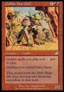 ゴブリンの戦長/Goblin Warchief