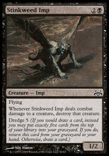 臭い草のインプ/Stinkweed Imp