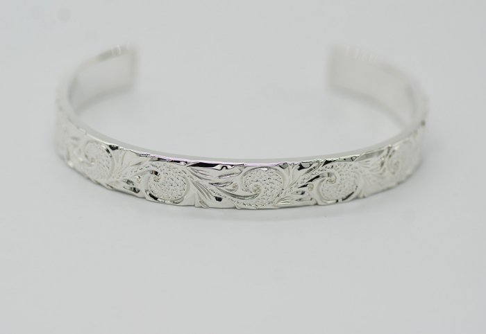 Scroll Bangle 9mm
