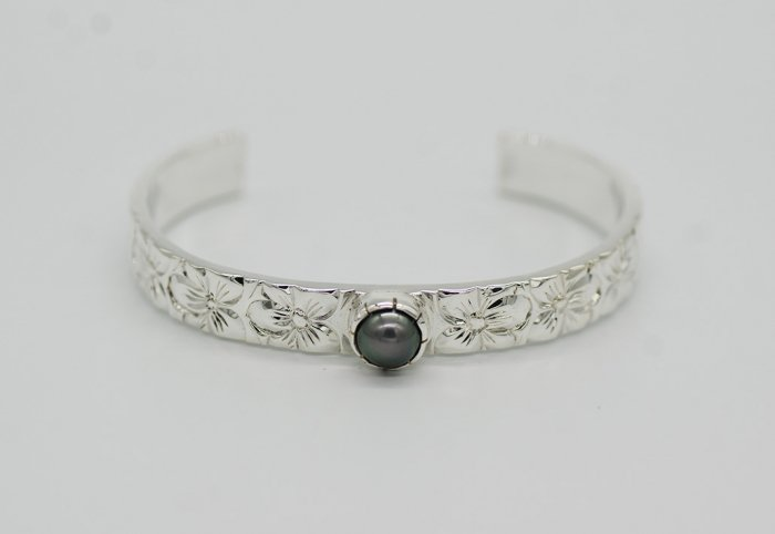 9mm TahitianPearl Bangle [AROHA]