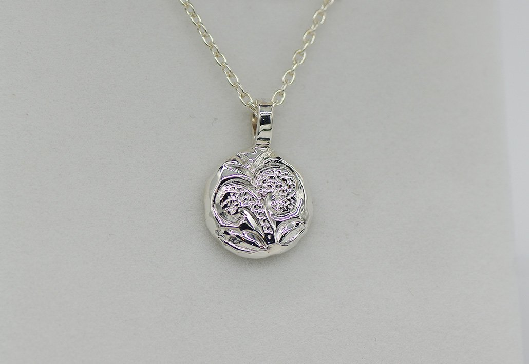COINPENDANT 小 SV950 チェーン付 [SCROLL]