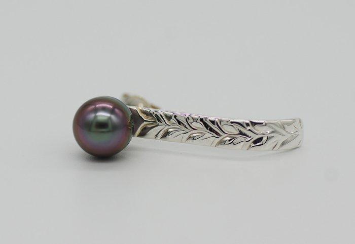 タヒチアンパールピアス[HOOK] Silver950