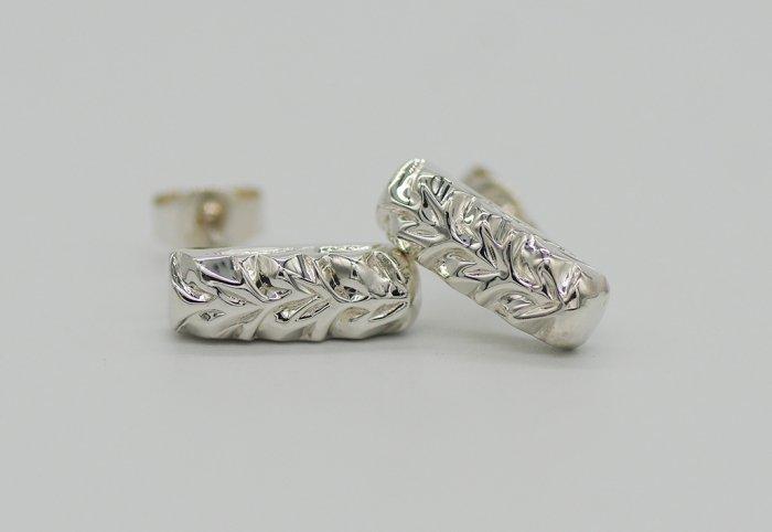 スクエアピアス Silver950