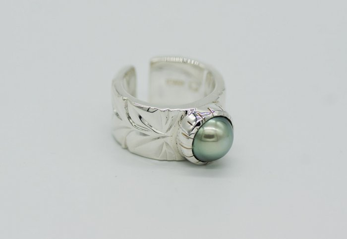 HANAUMA Maile Pearl Ring 12mm