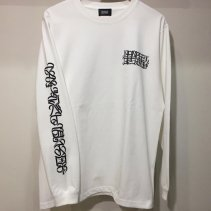 CASPER LONGSLEEVE T-SHIRTS (WHITE)