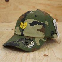 WU-TANG BENT BRIM CAP (WOODLAND)