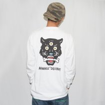MANAGE*DESTROY/Toyameg LONG SLEEVE TEE