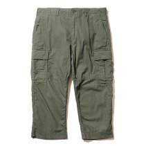 BackChannel - CROPPED CARGO PANTS - OLIVE