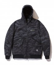 <img class='new_mark_img1' src='//img.shop-pro.jp/img/new/icons25.gif' style='border:none;display:inline;margin:0px;padding:0px;width:auto;' />BACK CHANNEL - GHOSTLION CAMO CORDURA HOODED JACKET