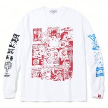 -GRAVY SOURCE- COMIC L/S TEE