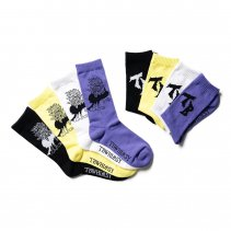 <img class='new_mark_img1' src='https://img.shop-pro.jp/img/new/icons2.gif' style='border:none;display:inline;margin:0px;padding:0px;width:auto;' />YATAGARASU SOCKS (TIGHTBOOTH / WHIMSY SOCKS)